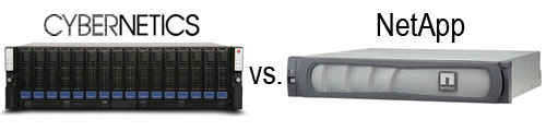 Compare with NetApp products